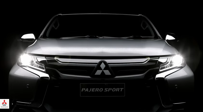 All-New 2016 Mitsubishi Pajero Sport Teased In New Video