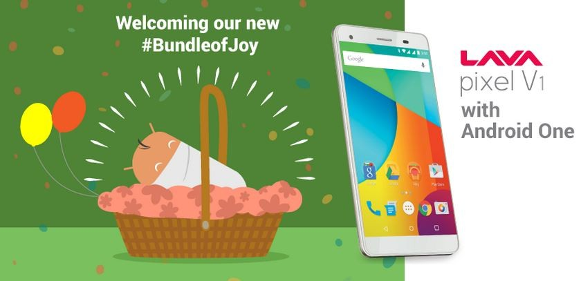 Android One Lava Pixel V1 Launched in India; Price, Specifications