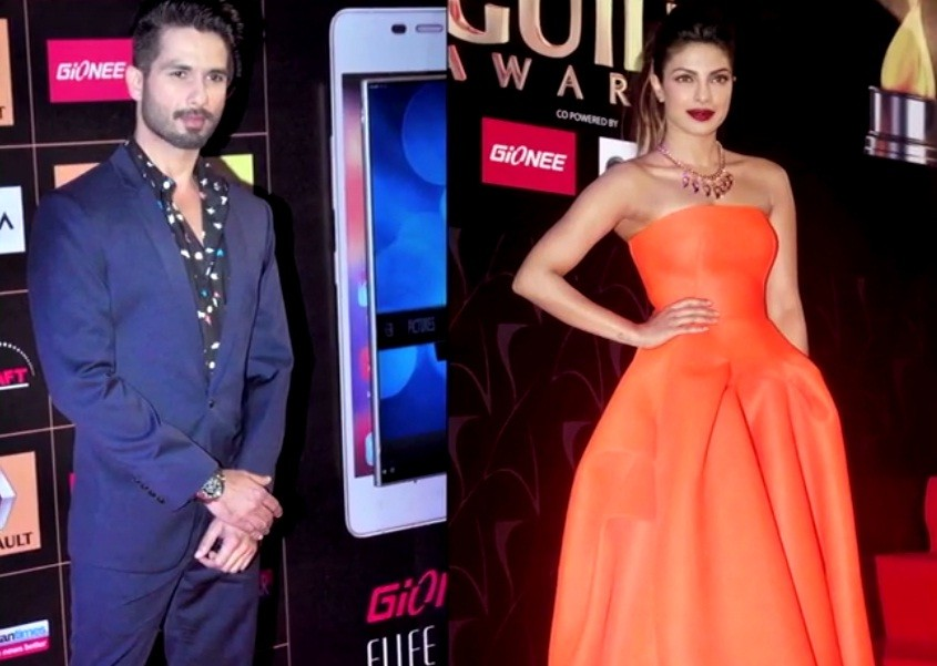 Ex-lovers Priyanka – Shahid Bonds with Kiss; What Happens When Bollywood Ex-flames Come Face-to-face