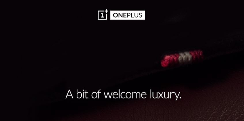 OnePlus Twitter Hints Some Luxury Product on Way
