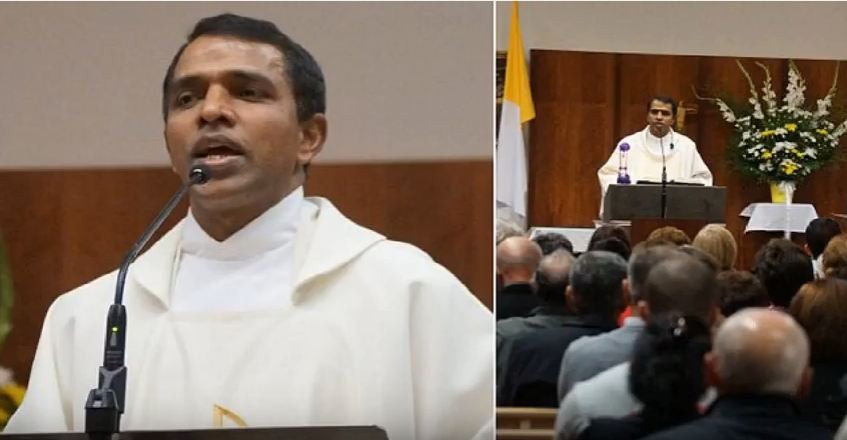 Rev Tomy Kalathoor Mathew stabbed in Melbourne Church