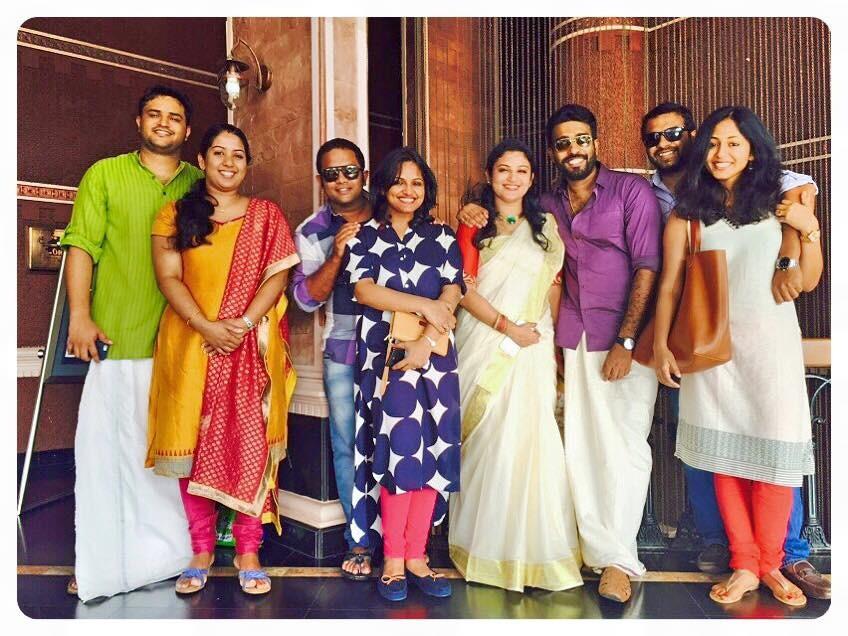 Onam 2015,malayalam celebs onam celebrations,mollywood celebs onam,mammootty onam,dulquer salmaan onam
