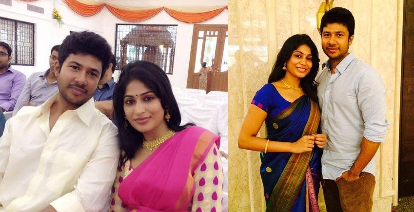 Actress Vijayalakshmi and Feroz Mohamed