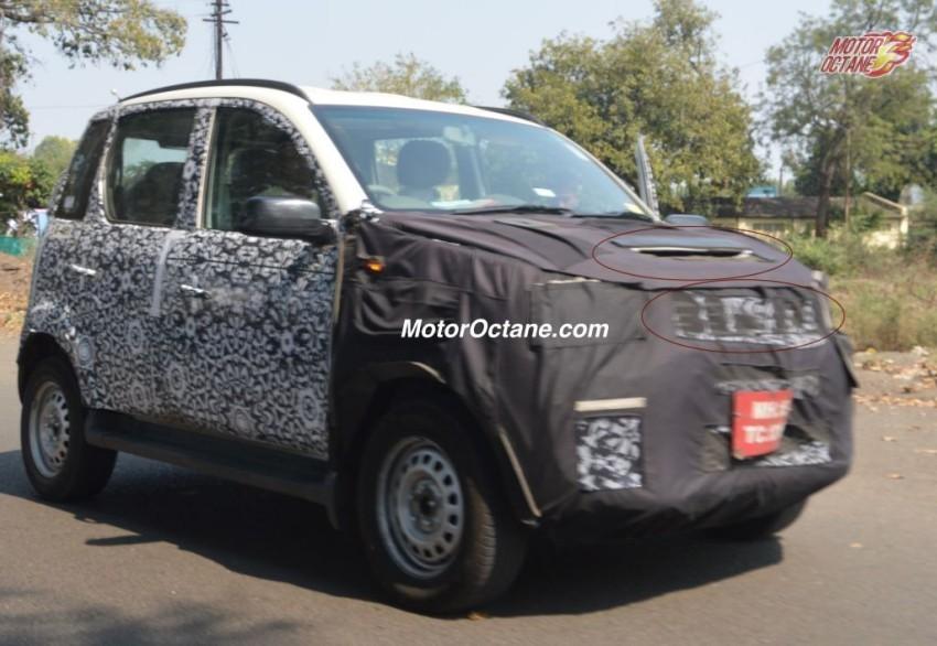 Mahindra Quanto Facelift Spied Testing Again
