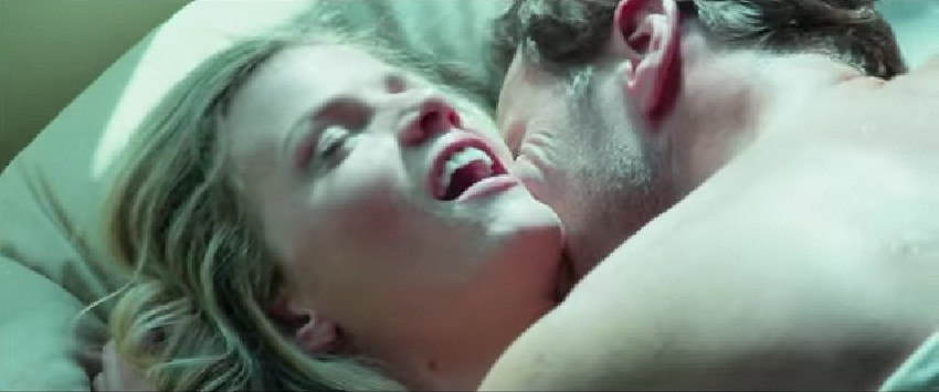 Brooklyn Decker and Patrick Wilson show how to film a sizzling sex scene