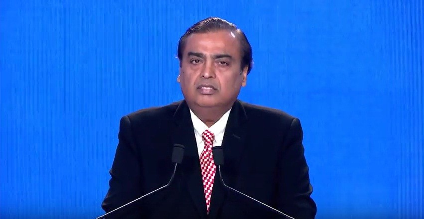 RIL's chairman and managing director Mukesh Ambani