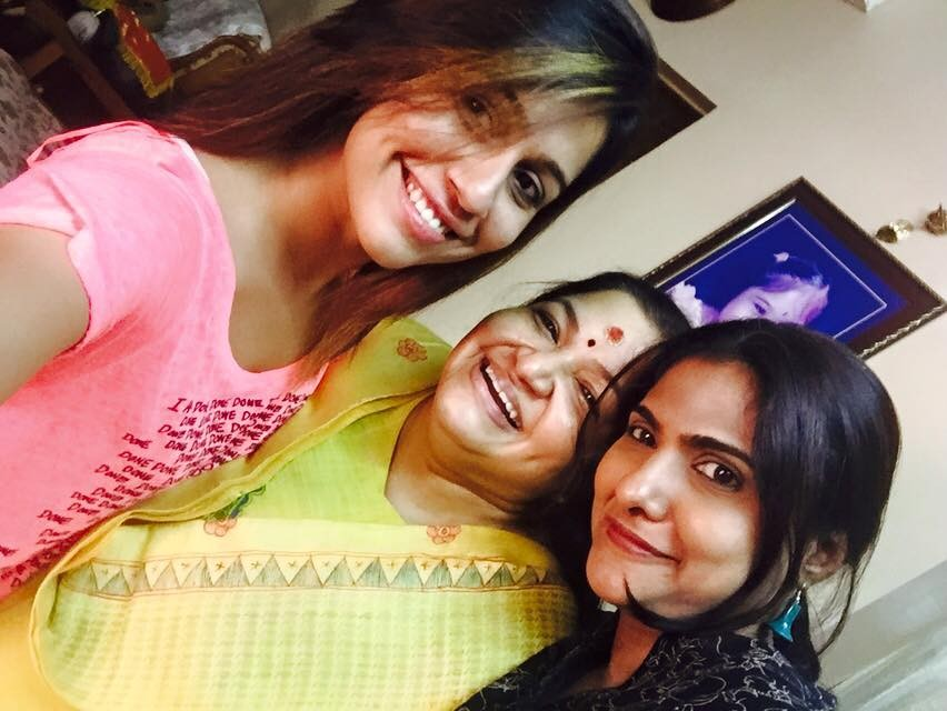 Ranjini Haridas,Ranjini Haridas with rekha menon,anchor rekha menon,KS chithra