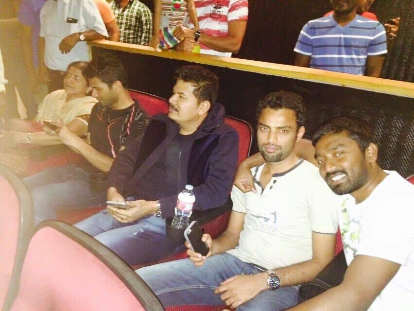 Director Shankar Watches Mani Ratnam's OK Kanmani Movie,Director ??Shankar?,Mani Ratnam's ??OK Kanmani? Movie,OK Kanmani?,event