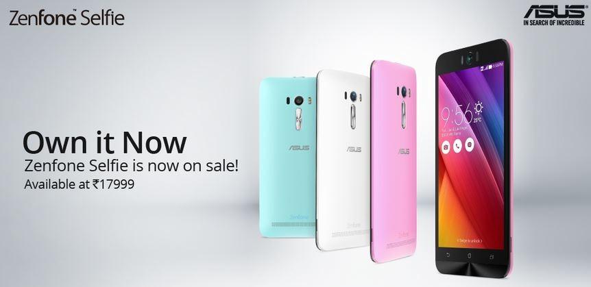Asus Zenfone Selfie (32GB) Released in India; Price, Specifications