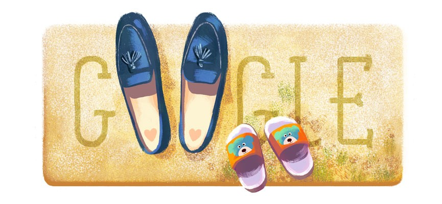 Google Mothers day doodle