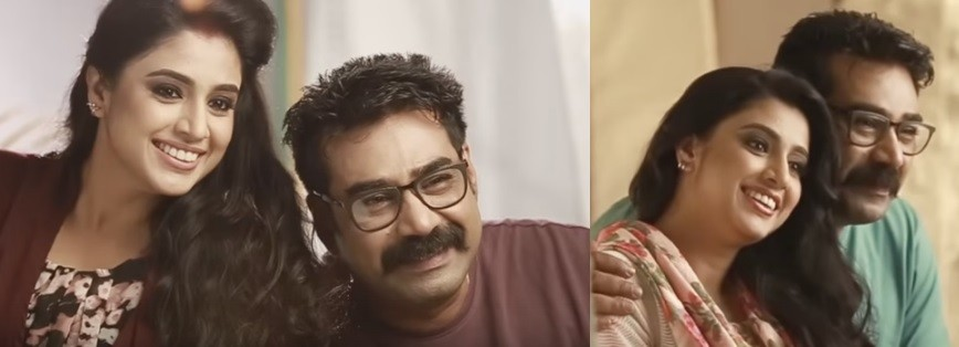 Samyuktha Varma and Biju Menon