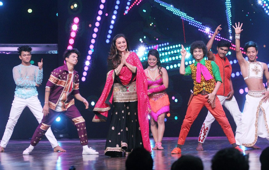 Rani Mukerji,actress Rani Mukerji,Hichki,Hichki promotion,Hichki movie promotion