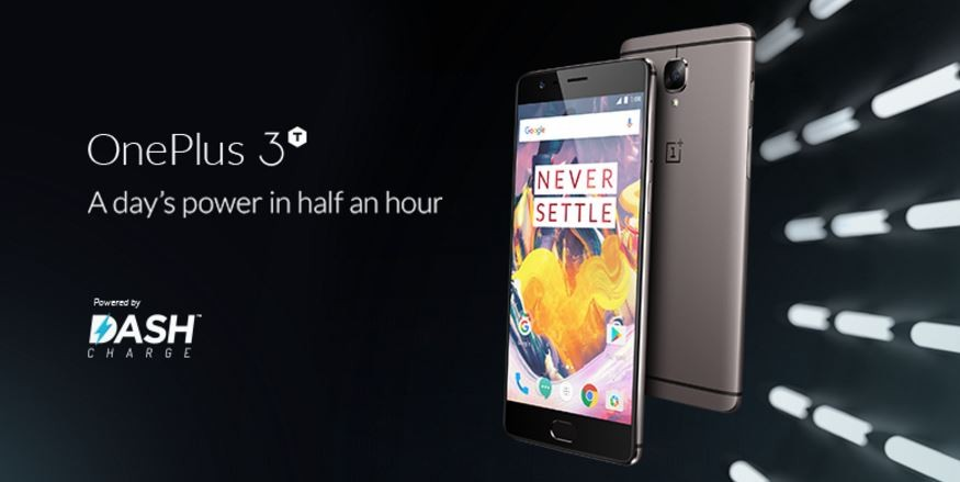 OnePlus 3T featuring 16 MP cameras now available for purchase in UK and the EU