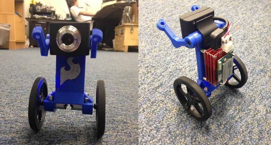 Eddie- The 3D Printed Balanced Bot
