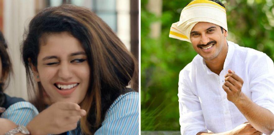 Priya Prakash Varrier wants to work with Dulquer Salmaan