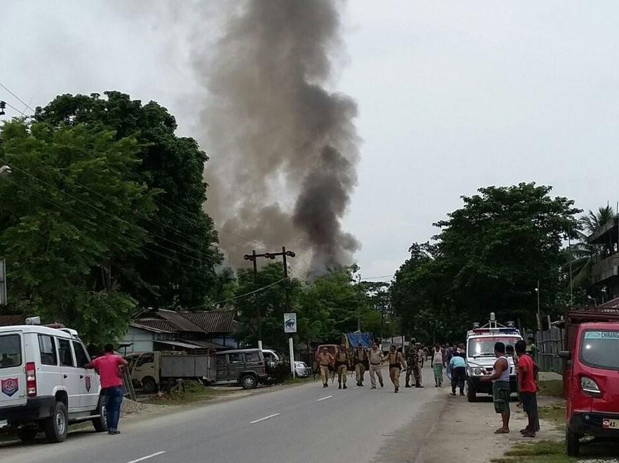 Assam attack,Assam terrorist attack,terrorist attack,Kokrajhar market,terrorist,terrorist killed,Terror attack in Assam
