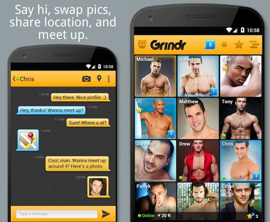 most popular gay apps