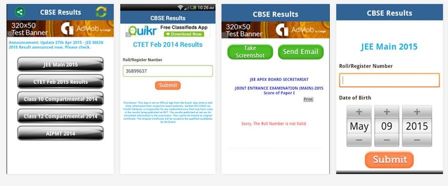 CBSE Class 12 Results 2015: Android Apps Available on Google Play Store to Check Results on Mobile Phone