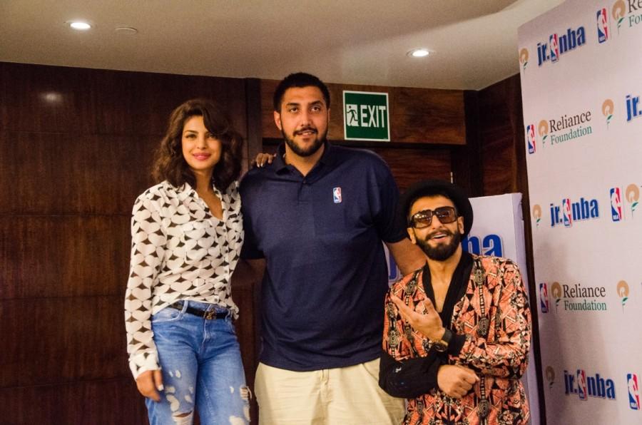 Ranveer Singh,Priyanka Chopra,Dil Dhadakne Do,Sim Bhullar,NBA Baller,Photos