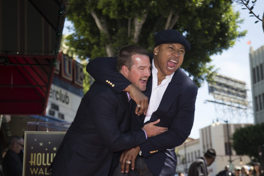 Hollywood Walk of Fame,Chris O'Donnell,A Star,Batman & Robin,Robin,Honored with Star,LL Cool J,NCIS: Los Angeles,photos