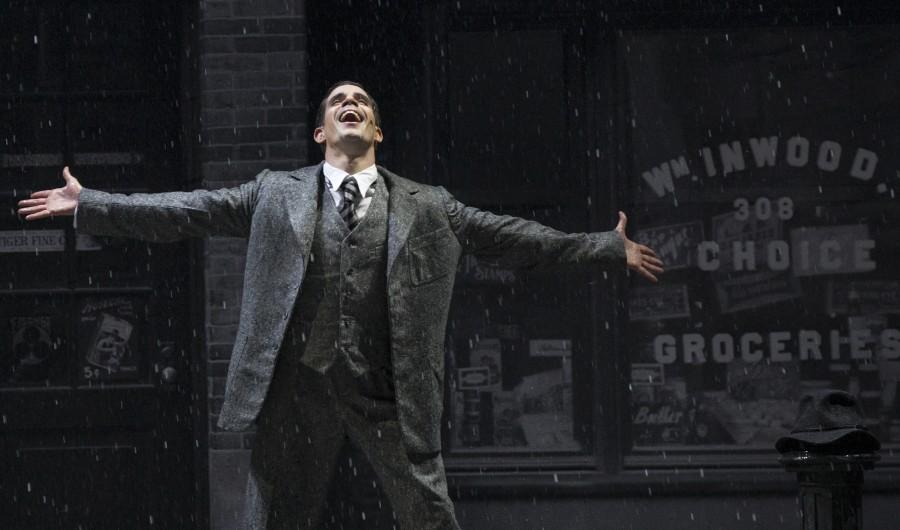 Dan Burton,musical movie,Singin in the Rain,Don Lockwood,dress rehearsals,photos
