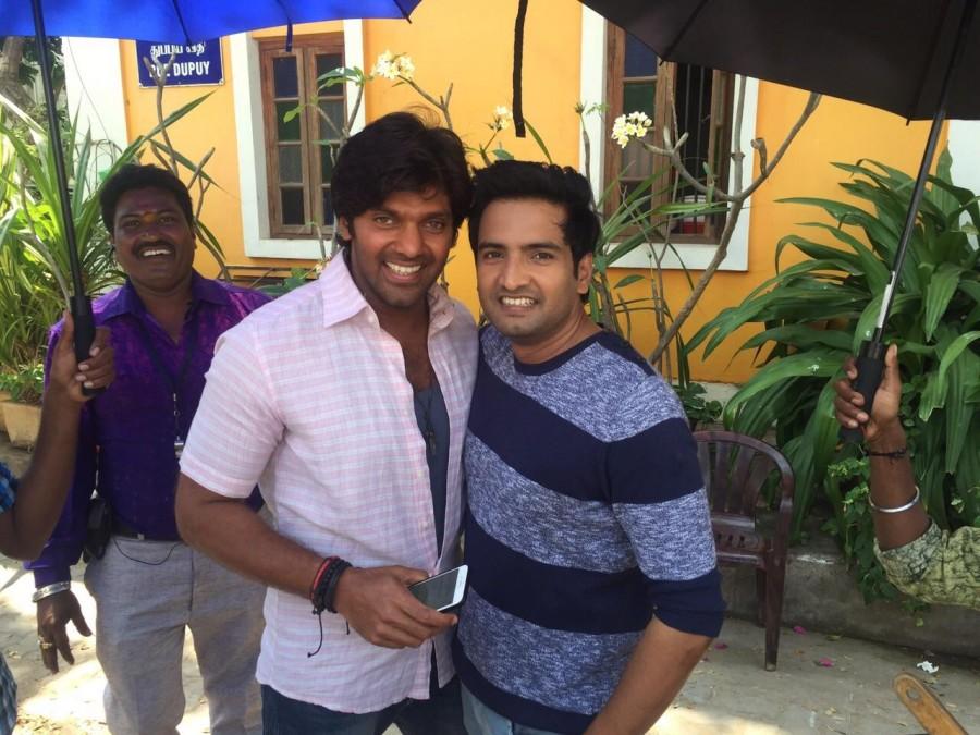 Inimey Ippadithan',Arya,Santhanam,Upcoming Tamil films,Inimey Ippadithan photos,Inimey Ippadithan stills,Inimey Ippadithan shooting pics