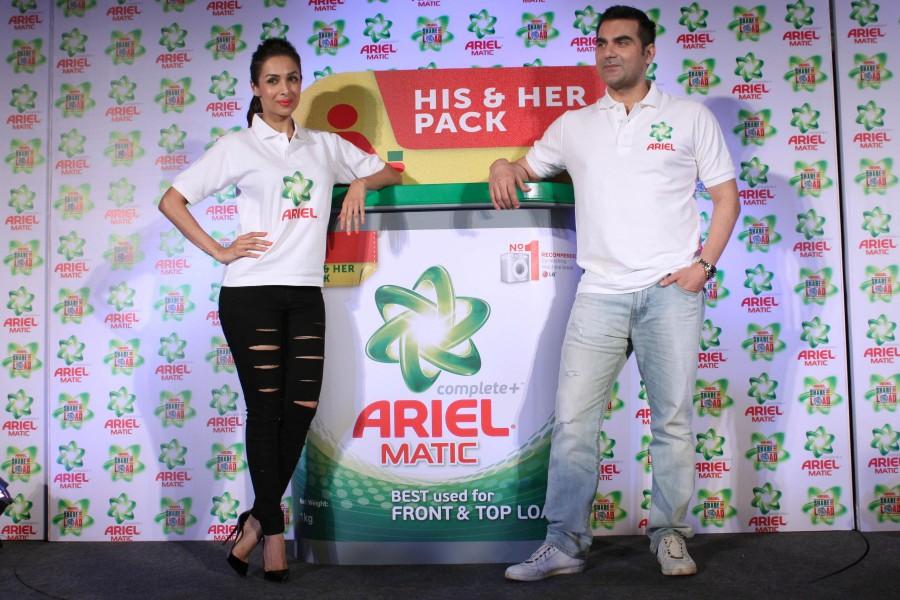 Arbaaz khan,Malaika arora khan,Tips for happy married life,Ariel detergent,Washing tips