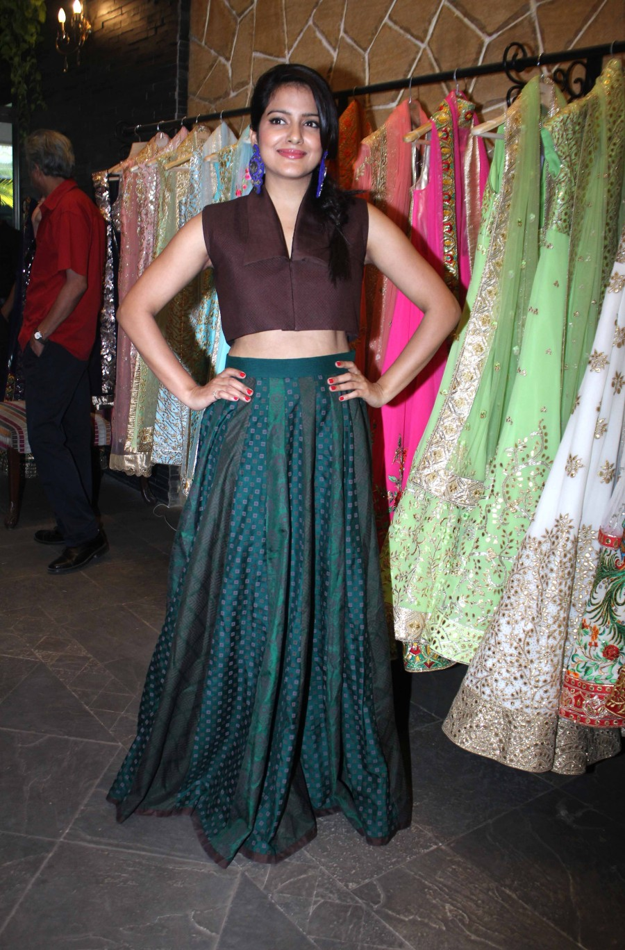 Vishakha Singh,Shruti Sancheti,Pooja Chopra,Spring Summer Collection 2015,Launch of Spring Summer Collection 2015,mumbai event,Spring Summer Collection photos