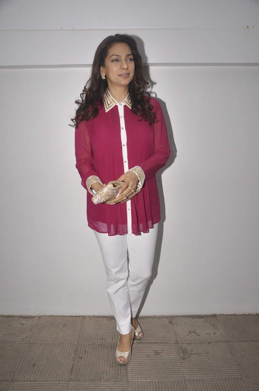 Nishka Lulla,Nishka Lulla wedding bash,celebs at Nishka Lulla bash,Juhi chawla,Juhi chawla photos,Juhi chawla latest