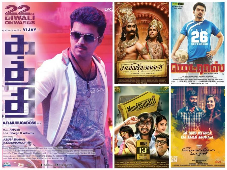Nominations for the 62nd Britannia Filmfare Awards (Tamil),62nd Britannia Filmfare Awards,Nominees for Filmfare awards,Filmfare Awards,Filmfare Awards 2015,Tamil Nomintations,awards