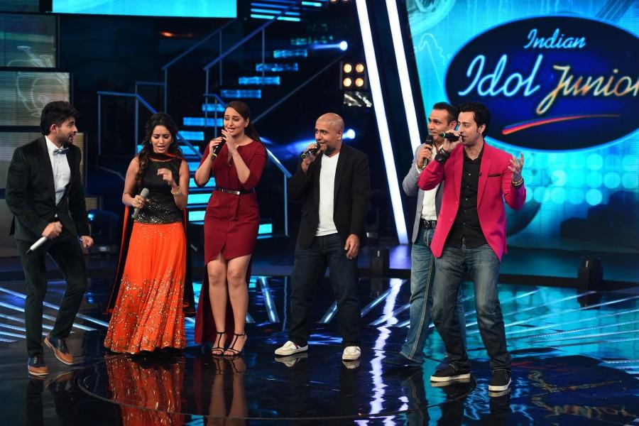 Indian idol junior,virendra sehwag,cricketer,preity zinta,Indian Idol Junior Season 2,sonakshi sinha,photos