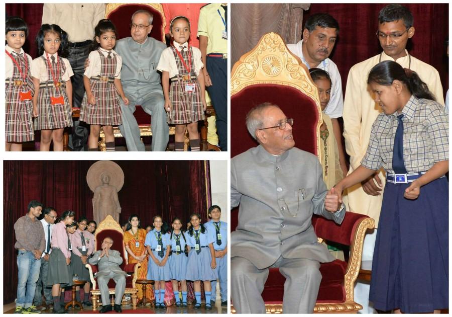 President of India,Pranab Mukherjee,Pranab Mukherjee rakhi,Raksha Bandhan