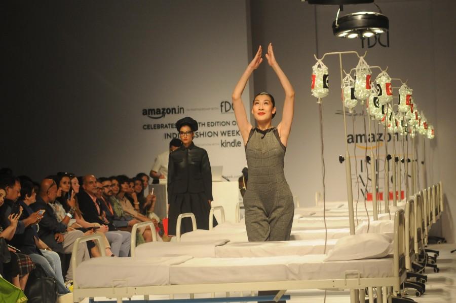 Amazon India Fashion Week 2015,fashion designers,fashion show,ramp walk,photos