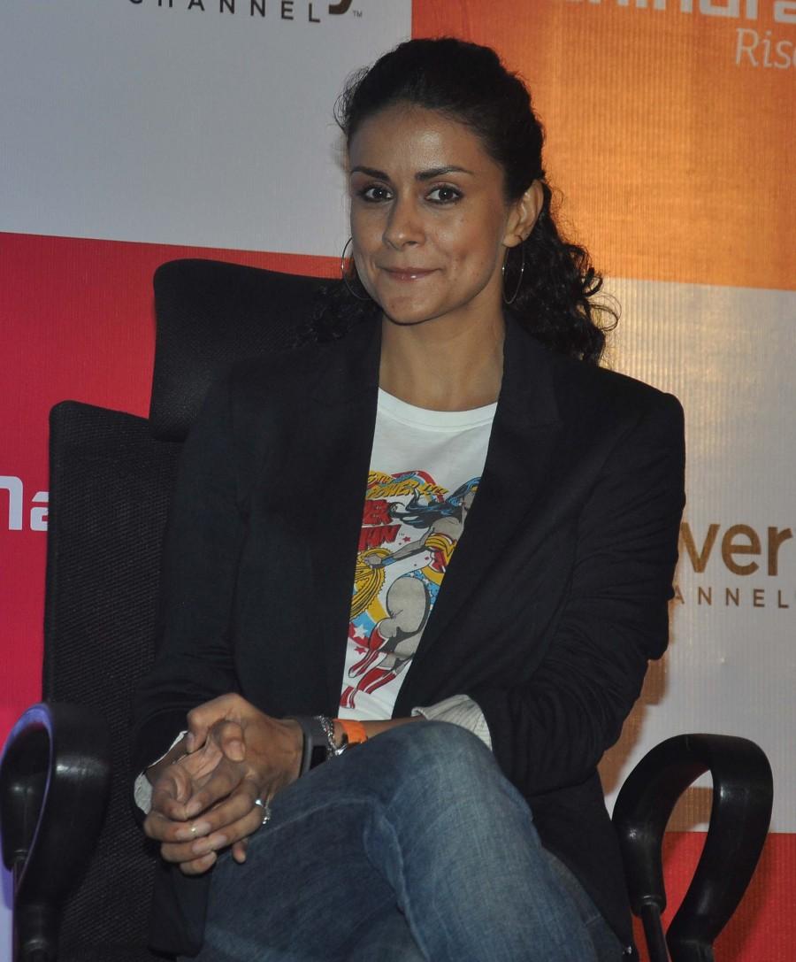 Gul Panag,travel show,Off road with Gul Panag,press conference,Mumbai,photos