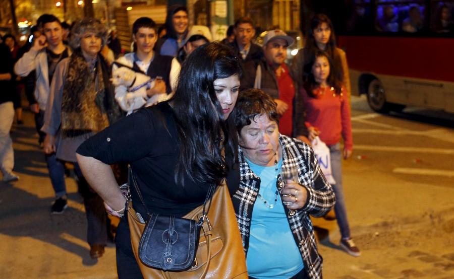Chile earthquake,8.3 magnitude