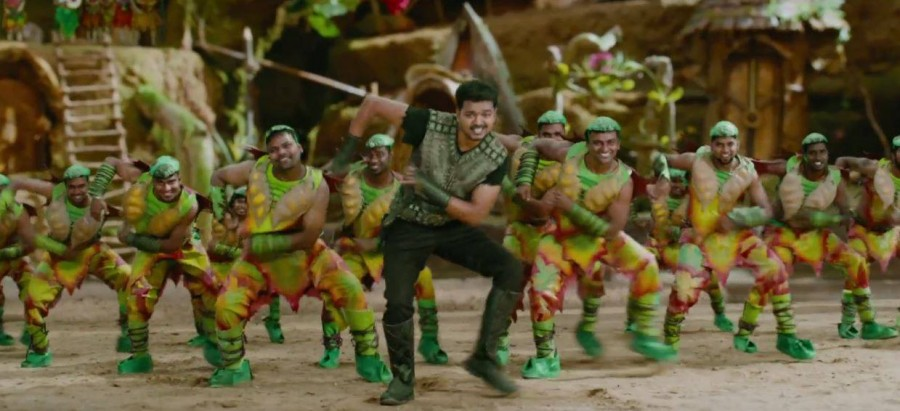 Vijay,Hansika Motwani,Vijay and Hansika Motwani,ilayathalapathy vijay,Puli,Puli movie stills,Puli movie pics,Puli movie images,Puli movie photos,vijay in puli movie,hansika motwani in puli movie
