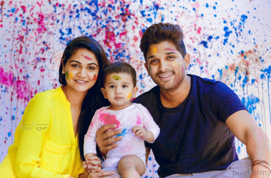 Here's Allu Arjun's Cute Family Pictures - Photos