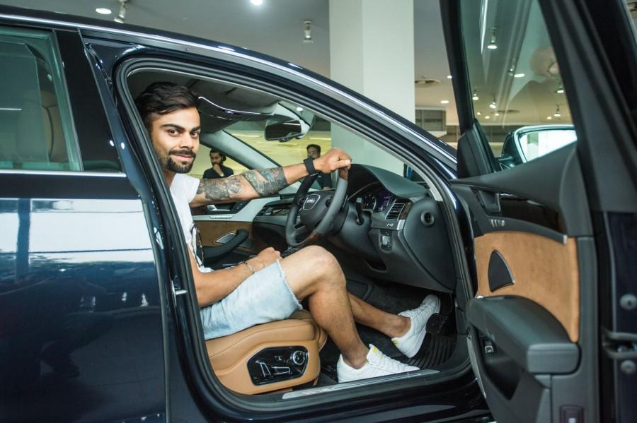 Viral Kohli,Virat Kohli A8,Virat Kohli car collection,Virat Kohli new Audi A8 W12,Virat Kohli new car