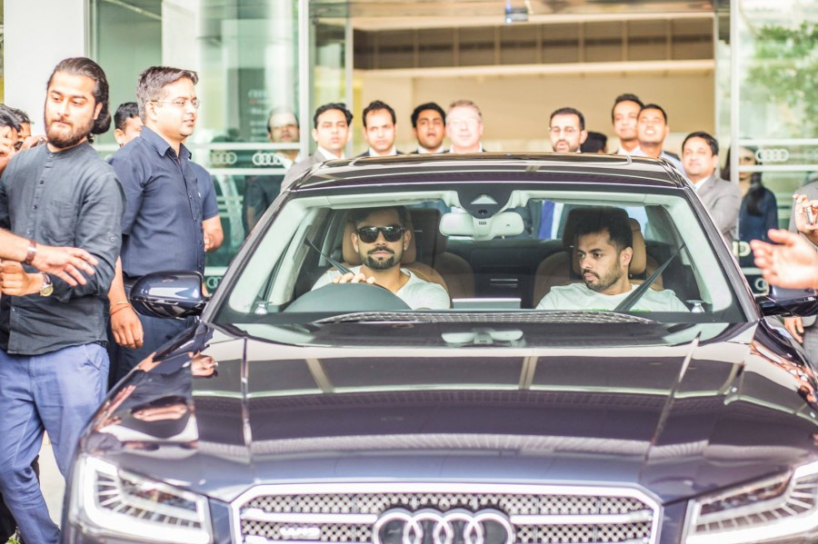 Viral Kohli,Virat Kohli A8,Virat Kohli car collection,Virat Kohli new Audi A8 W12,Virat Kohli new car