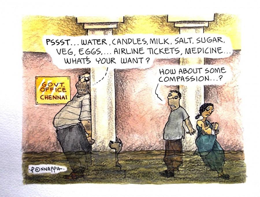 IBTimes Cartoon,Ponappa Cartoon