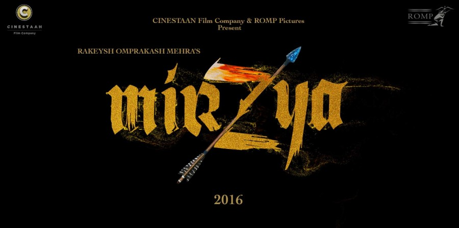 Mirzya,Mirzya's Logo Revealed,Mirzya's Logo,Harshvardhan Kapoor,Saiyami Kher