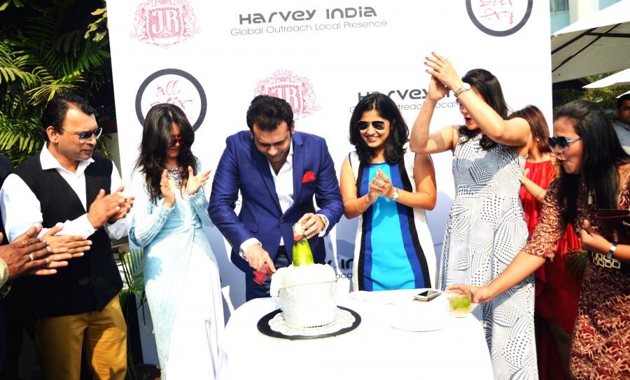 Harvey India's Annual Christmas Brunch,Christmas Brunch 2015,Christmas Brunch,Gayle Henriques,Abbas,Mustan,Joe Rajan,Rochelle,Naved Jaffery
