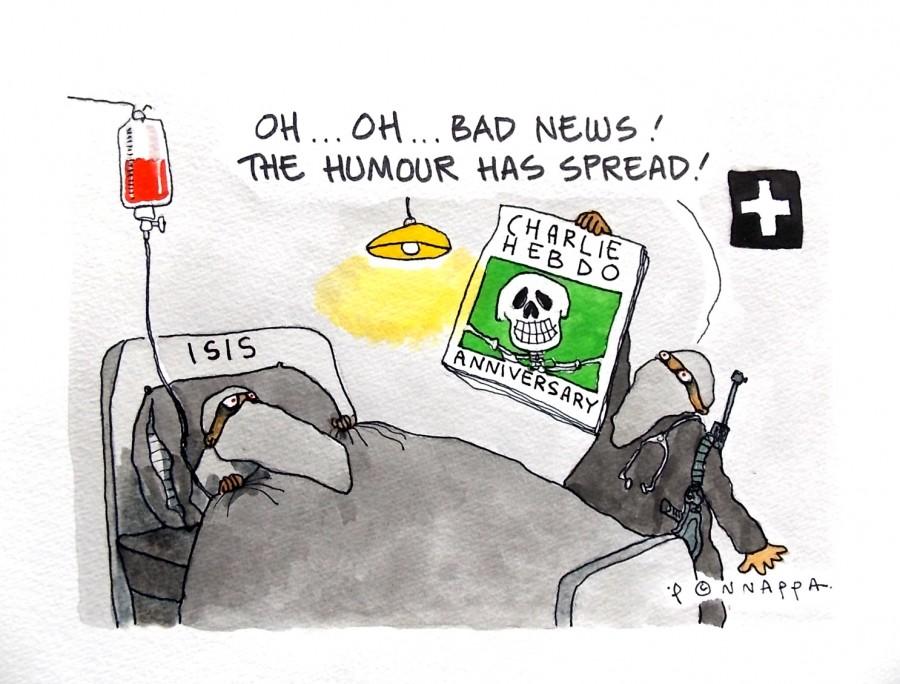 IBTimes Cartoon,Ponappa cartoon,Isis cartoon,Isis humour