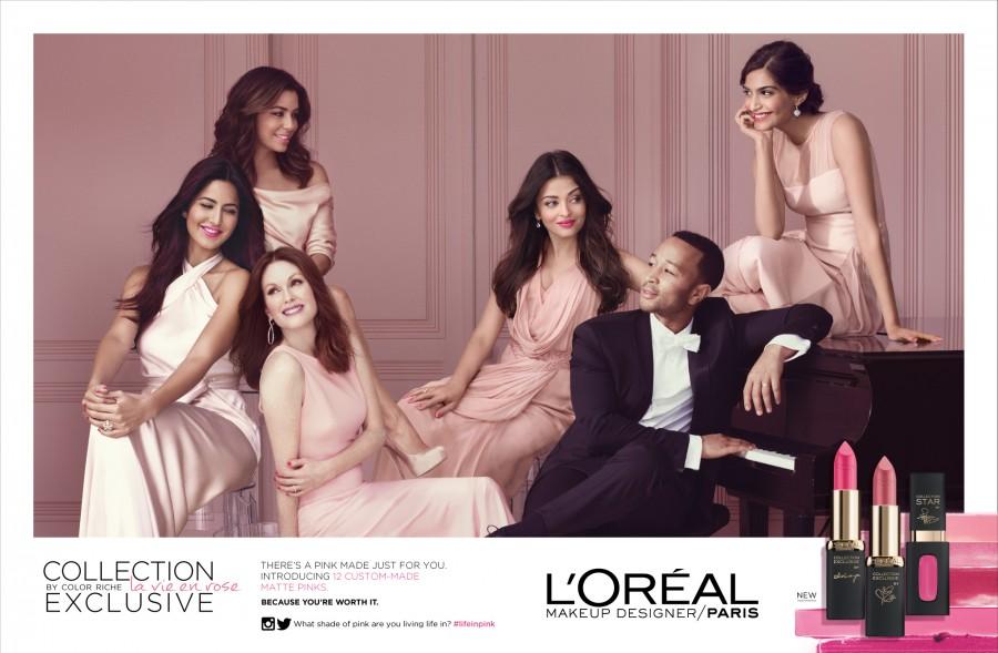 L'Oreal Paris campaign,L'Oreal,L'Oreal campaign,Aishwarya Rai,Sonam Kapoor,Katrina Kaif,Julianne Moore,Aishwarya Rai Bachchan,Aishwarya Rai and Sonam Kapoor