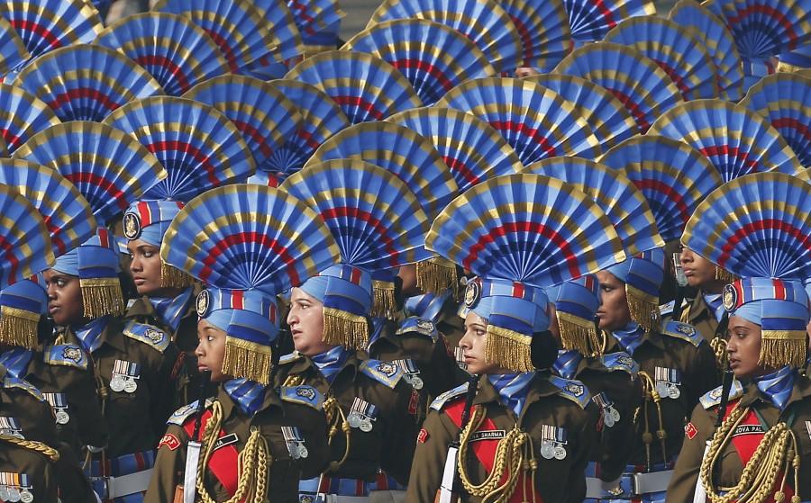 Republic Day,Republic Day Parade,Republic Day Parade 2016,Republic Day 2016,French Troops Participate,French Troops,Rehearsal,Republic Day Rehearsal