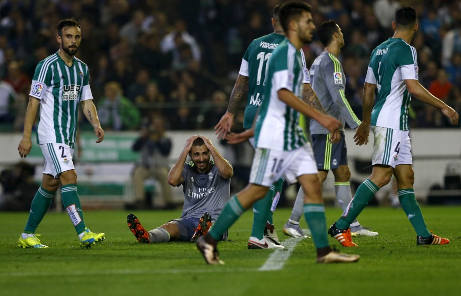 Real Madrid,Betis battle,La Liga,Cristiano Ronaldo,Real Betis