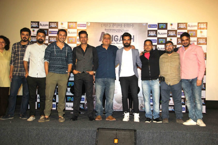 Aligarh Trailer launch,Aligarh Trailer,Rajkummar Rao,Manoj Bajpai,Aligarh Trailer launch pics,Aligarh Trailer launch images,Aligarh Trailer launch photos,Aligarh Trailer launch stills,Aligarh Trailer launch pictures