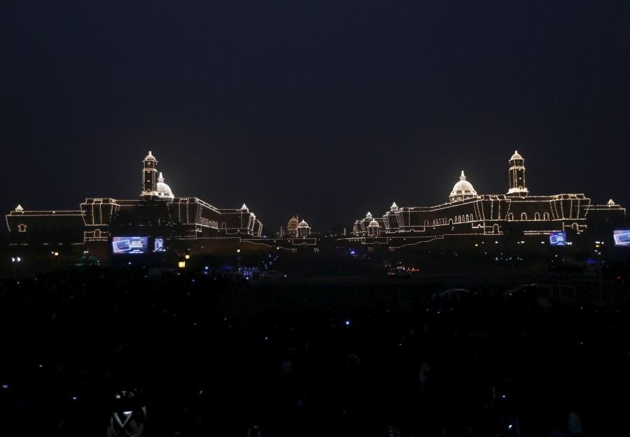 Beating Retreat ceremony,Beating Retreat,Republic Day celebrations,modi,Narendra Modi,Prime Minister Narendra Modi,Pranab Mukherjee