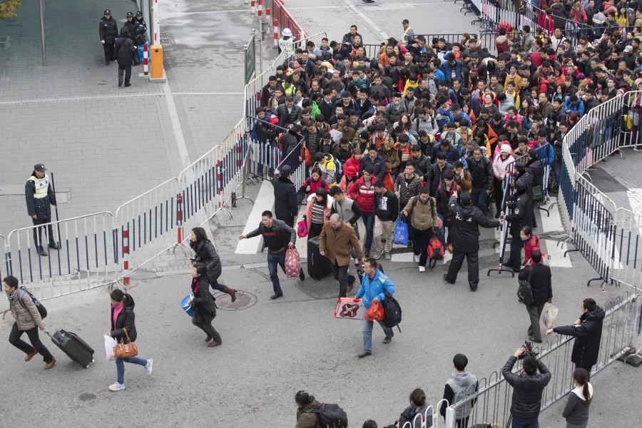 50,000 passengers,China railway station,Guangzhou railway station,Guangzhou,50000 passengers,China's Guangzhou railway station