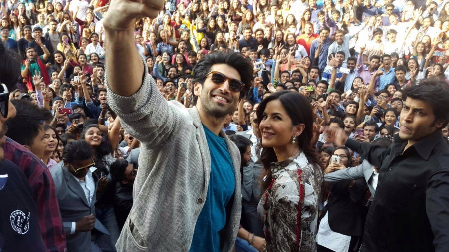 Aditya Roy Kapur,Katrina Kaif,Aditya Roy Kapur and Katrina Kaif,Fitoor,bollywood movie Fitoor,Fitoor promotion,Fitoor movie promotion